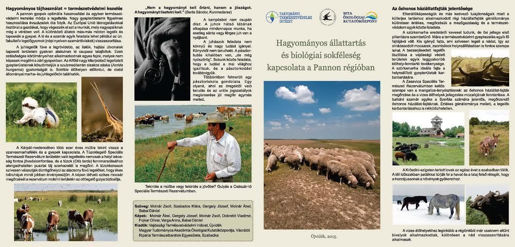 Hagyományos állattartás és biológiai sokféleség kapcsolata a Pannon régióban