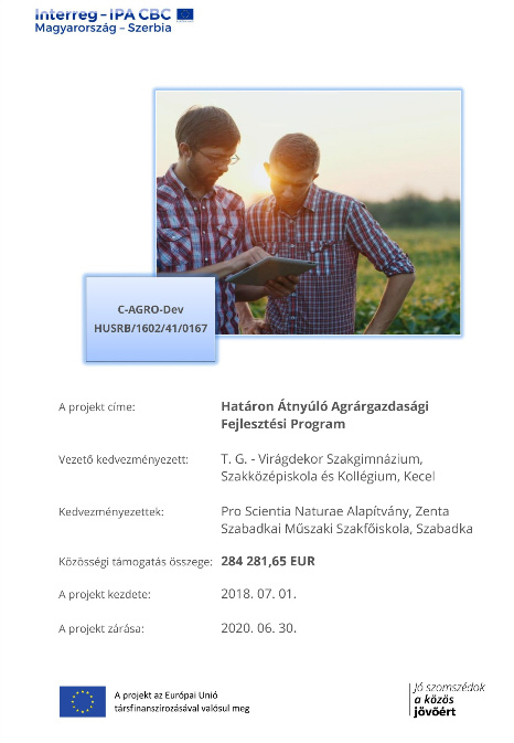Határon Átnyúló Agrárgazdasági Fejlesztési Program